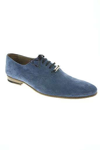 mariano chaussures homme de couleur bleu