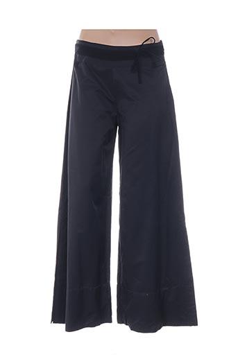 Pantalon casual noir FILLE DES SABLES pour femme
