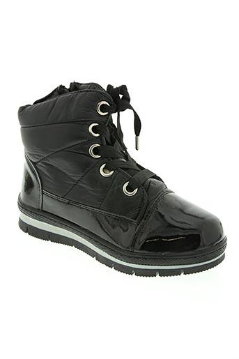 hellenia chaussures fille de couleur noir
