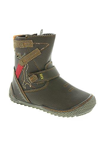 wipop chaussures garçon de couleur marron