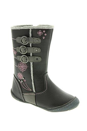 wipop chaussures fille de couleur noir