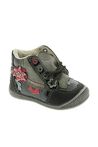 kouki chaussures fille de couleur noir