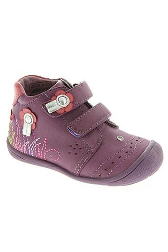 dkp chaussures fille de couleur violet