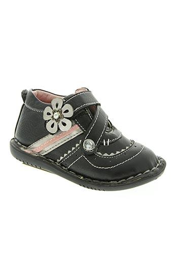 dkp chaussures fille de couleur noir