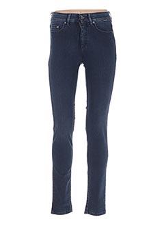 Jeans coupe slim bleu COUTURIST pour femme