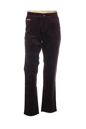 Pantalon casual violet COUTURIST pour homme