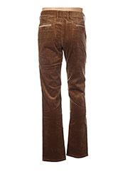 Pantalon casual orange COUTURIST pour homme seconde vue