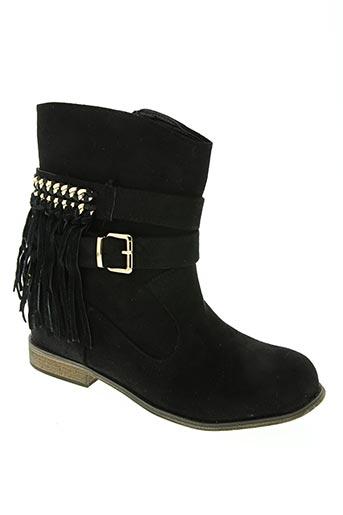 cream chaussures femme de couleur noir