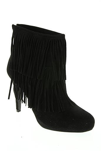 Bottines/Boots noir CATISA pour femme
