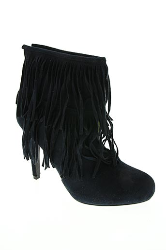Bottines/Boots bleu CATISA pour femme