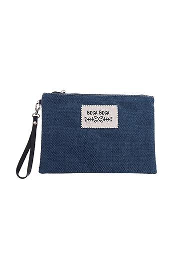 Pochette bleu BOCA BOCA pour femme