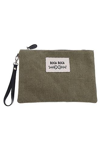 Pochette vert BOCA BOCA pour femme