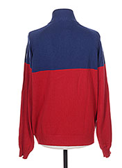 Pull col cheminée rouge SERGE BLANCO pour homme seconde vue