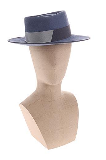 Chapeau bleu D'ESTRËE pour femme