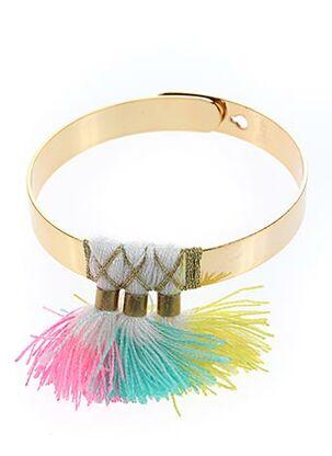 Bracelet Jonc jaune CHERIE SHERIFF pour femme