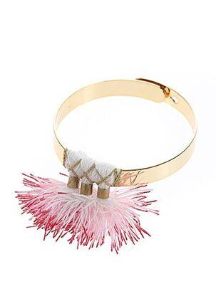 Bracelet Jonc rouge CHERIE SHERIFF pour femme