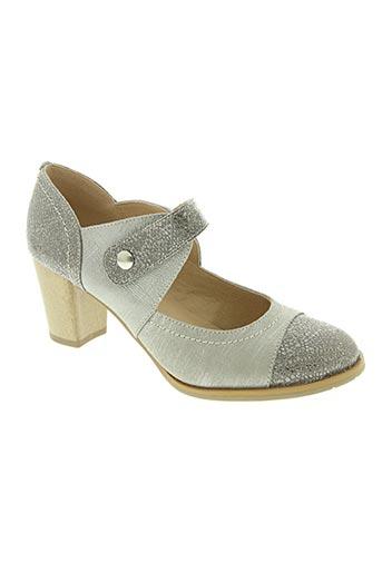 Escarpins gris SWEET pour femme