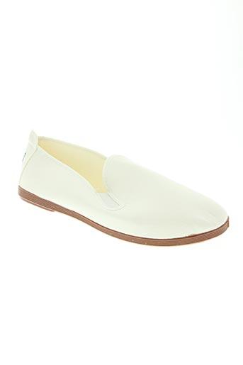 potomac chaussures homme de couleur blanc