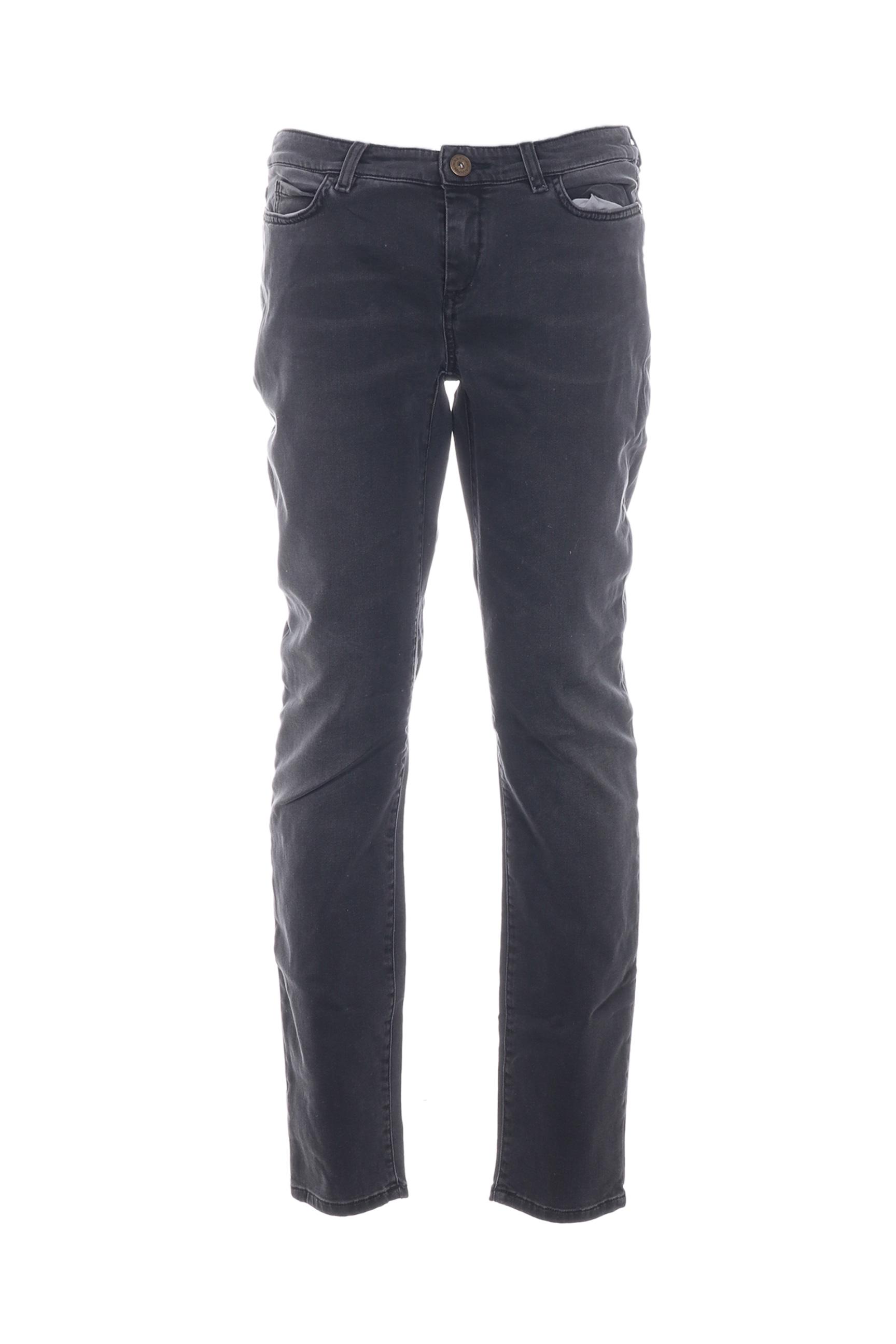 weekend maxmara jeans skinny femme de couleur gris en. Black Bedroom Furniture Sets. Home Design Ideas
