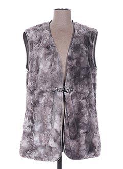 Veste chic / Blazer gris DIVAS pour femme