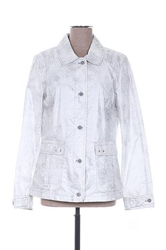 Veste casual gris CONCEPT K pour femme