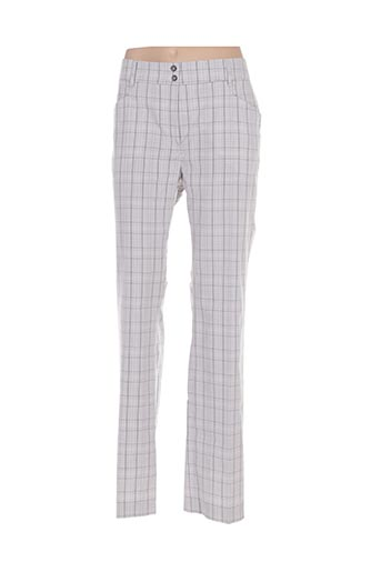 Pantalon casual gris GOLFINO pour femme