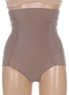 Culotte gainante marron WACOAL pour femme