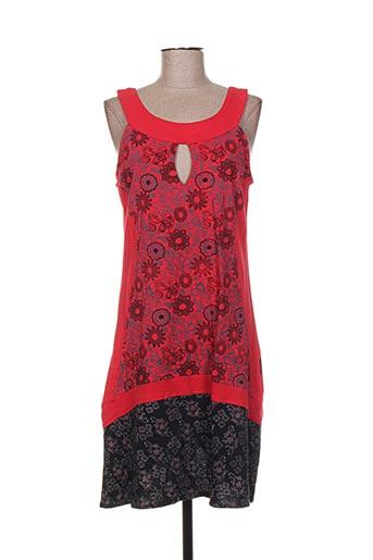 dipawali robes femme de couleur rouge
