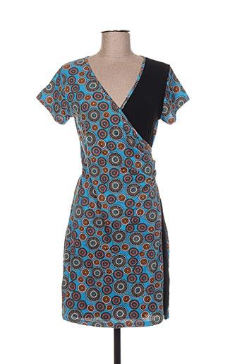 dipawali robes femme de couleur bleu