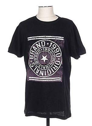T-shirt manches courtes noir CLIQUE pour homme