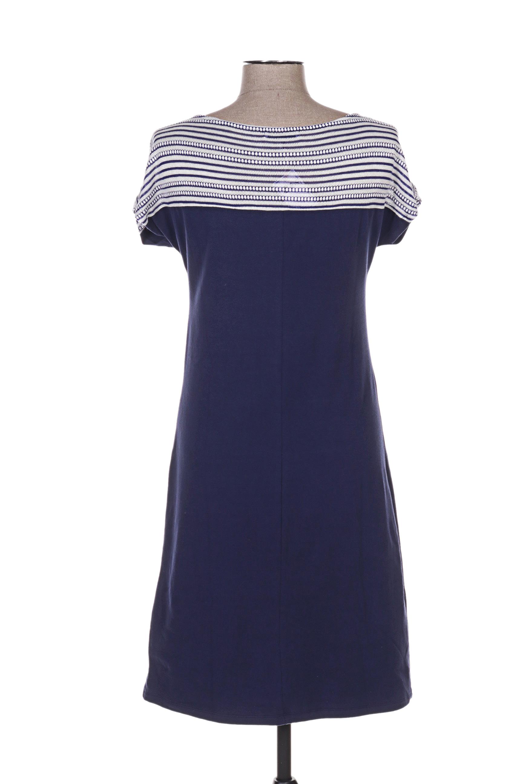 Noos Noos Robes Mi Longues Femme De Couleur Bleu En Soldes Pas Cher 1277374-bleu00