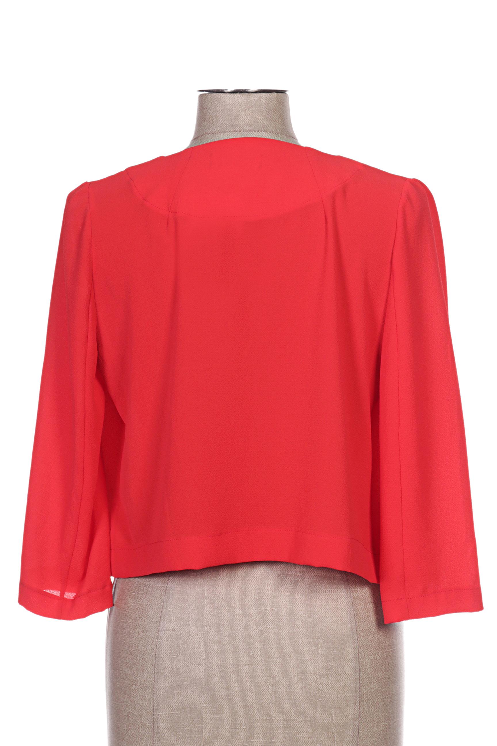 Femmes Je Vous Aime Boleros Femme De Couleur Rouge En Soldes Pas Cher 1275166-rouge0