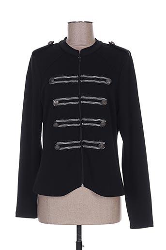 Veste casual noir BRANDTEX pour femme