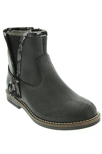 minibel chaussures fille de couleur noir