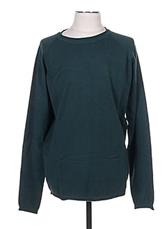Pull col rond vert TIFFOSI pour homme