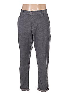 Pantalon casual gris TIFFOSI pour homme