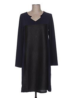 Robe mi-longue bleu MALOKA pour femme
