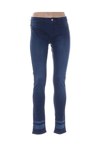Jeans coupe droite bleu ESPRIT pour fille
