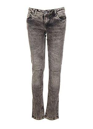 Jeans coupe slim gris GARCIA pour fille