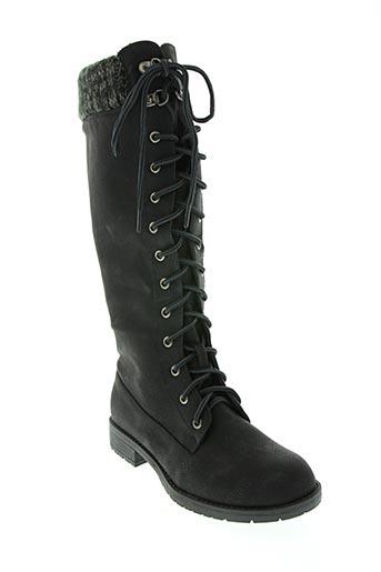 super mode chaussures femme de couleur noir