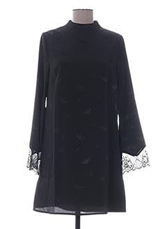 Robe courte noir LES P'TITES BOMBES pour femme