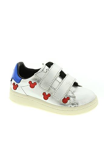 moa master of arts chaussures fille de couleur gris