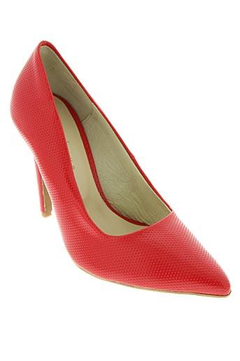 loca lova chaussures femme de couleur rouge