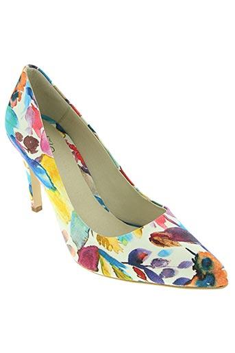 loca loca chaussures femme de couleur bleu