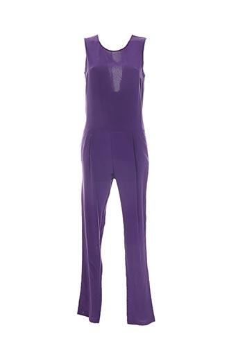 Combi-pantalon violet BELAIR pour femme