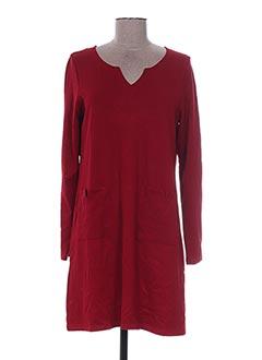 Robe courte rouge MALOKA pour femme