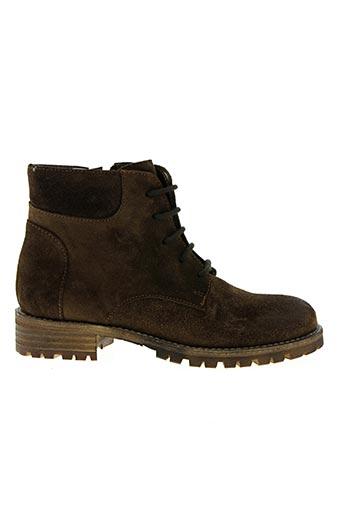 nimal chaussures enfant de couleur marron