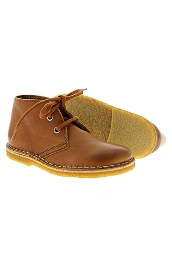 bisgaard chaussures garçon de couleur marron