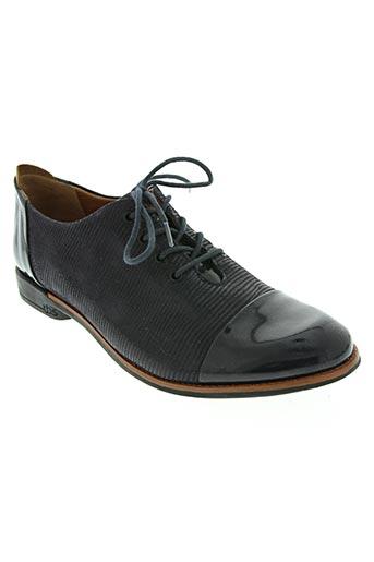 tbs chaussures femme de couleur bleu