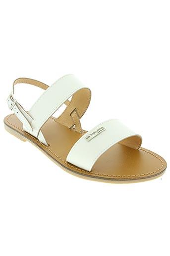 les tropeziennes par m.belarbi chaussures femme de couleur blanc